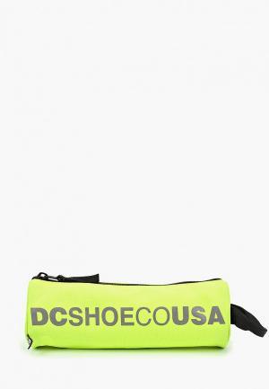 Пенал DC Shoes. Цвет: желтый