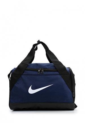 Сумка спортивная Nike Brasilia (Extra-Small) Duffel. Цвет: синий