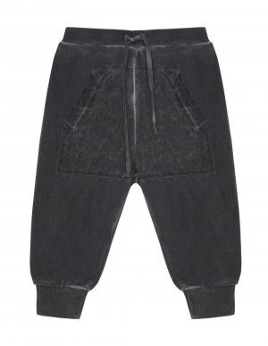 Серые брюки из хлопка Lost&Found kids