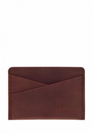 Кредитница Reconds Pocket. Цвет: коричневый