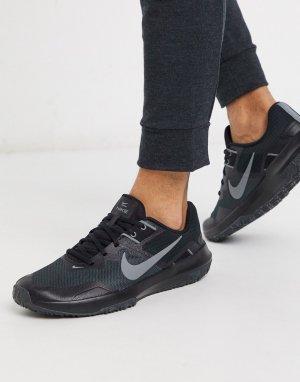 Черные кроссовки Varsity Compete 3-Черный Nike Training