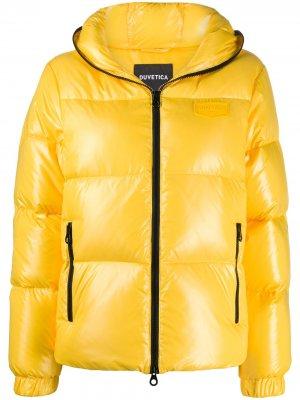 Короткая куртка-пуховик Bellatrix Duvetica. Цвет: желтый