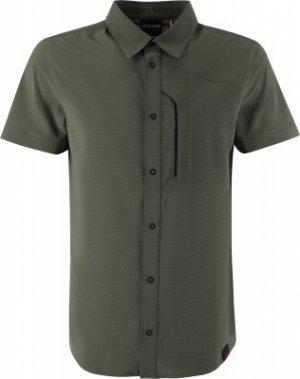 Рубашка с коротким рукавом мужская , размер 48 Northland. Цвет: зеленый
