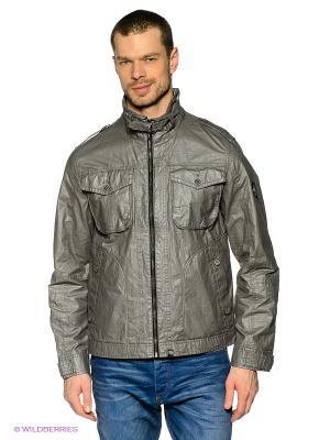 Куртка Gate One. Цвет: серый
