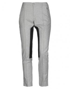 Повседневные брюки FAIRLY. Цвет: серый