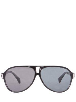 Солнцезащитные очки Zilli. Цвет: черный