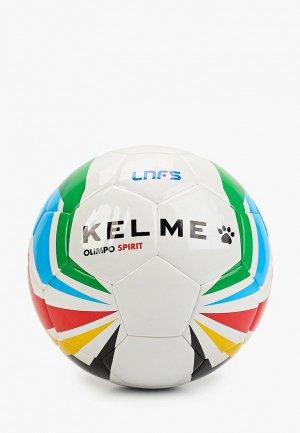 Мяч футбольный Kelme OLIMPO SPIRIT TRAINING LNFS. Цвет: белый
