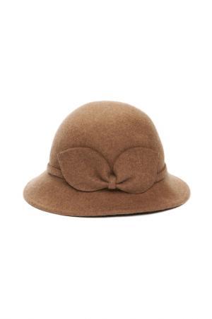 Шляпа Mellizos. Цвет: бежевый