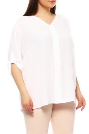 Блуза FRANK WALDER. Цвет: белый