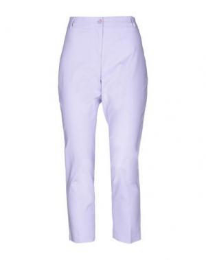 Повседневные брюки COMPAGNIA ITALIANA. Цвет: сиреневый