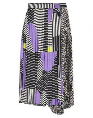 Длинная юбка BEATRICE. Цвет: черный