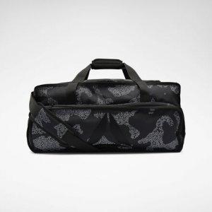 Спортивная сумка Training Grip Duffel Reebok. Цвет: black