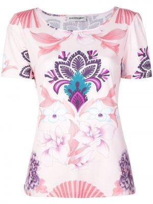 Calypso T-shirt Leonard. Цвет: розовый