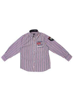 Рубашка хлопковая в полоску PAUL & SHARK