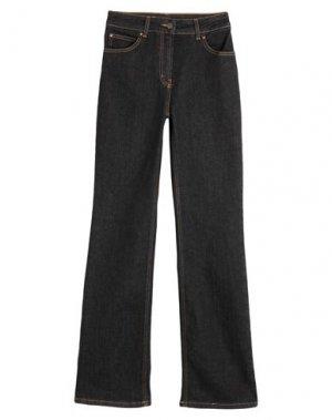 Джинсовые брюки CLIPS MORE. Цвет: черный