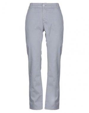 Повседневные брюки AND. Цвет: серый