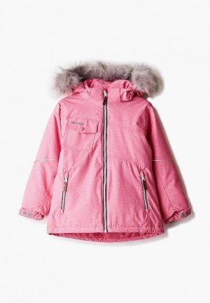 Куртка Kuoma. Цвет: розовый