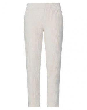 Повседневные брюки GARCIA. Цвет: слоновая кость