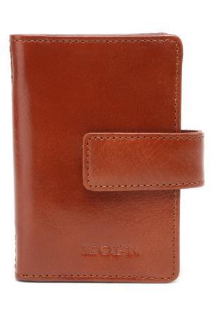Футляр для карточек KOFR. Цвет: коричневый