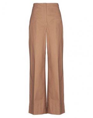 Повседневные брюки ELIZABETH AND JAMES. Цвет: коричневый