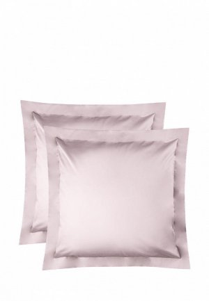 Комплект наволочек Bellehome Стефания Sapphire, 70х70. Цвет: розовый