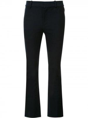 Укороченные расклешенные брюки Derek Lam 10 Crosby. Цвет: синий