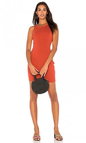 Платье gordon BB Dakota. Цвет: оранжевый