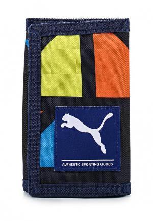 Кошелек Puma Academy Wallet sodalite blue-cali g. Цвет: разноцветный