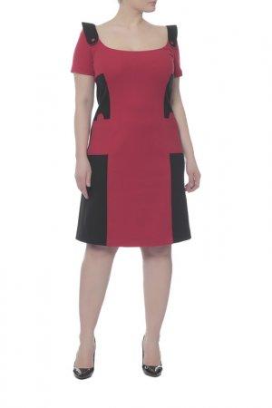 Платье Fendi. Цвет: красный