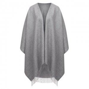 Шерстяная шаль Lucca Balmuir. Цвет: серый