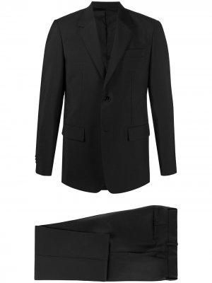 Костюм-двойка с однобортным пиджаком Jil Sander. Цвет: черный