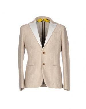 Пиджак AGLINI. Цвет: бежевый