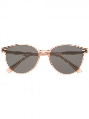 Солнцезащитные очки Slo BRC1 Gentle Monster. Цвет: коричневый