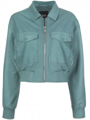 Куртка-бомбер Jen Lth Jkt. Цвет: зеленый