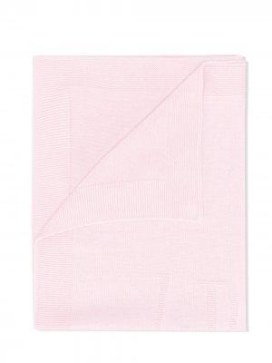 Одеяло с вышивкой Le Bebé Enfant. Цвет: розовый