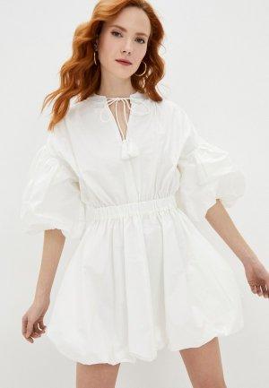 Платье Francesco Donni. Цвет: белый