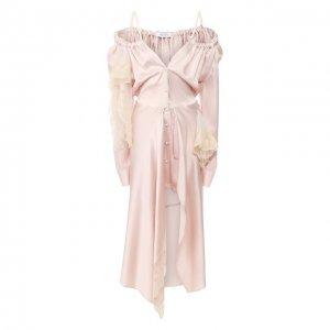 Платье-миди Act n1. Цвет: розовый