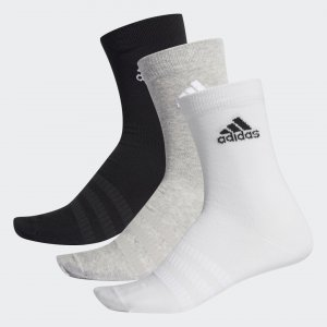 Три пары носков Crew Performance adidas. Цвет: черный