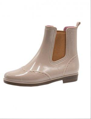 Резиновые сапоги ASD Shoes. Цвет: бежевый