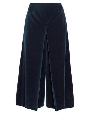 Укороченные брюки SONIA RYKIEL. Цвет: темно-синий