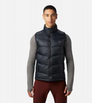 Жилет пуховый мужской Mt. Eyak™, размер 54 Mountain Hardwear. Цвет: черный