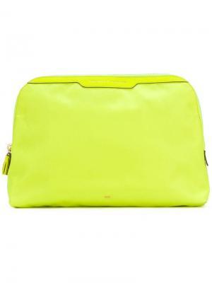 Lotions and Potions make-up bag Anya Hindmarch. Цвет: желтый