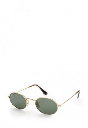 Очки солнцезащитные Ray-Ban® RB3547N 001. Цвет: золотой