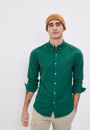 Рубашка Polo Ralph Lauren. Цвет: зеленый