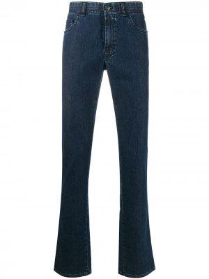 Расклешенные джинсы Brioni. Цвет: синий