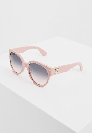 Очки солнцезащитные Moschino MOS013/S 35J. Цвет: розовый