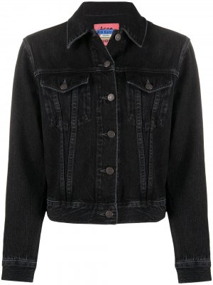Джинсовая куртка 1999-го года Acne Studios. Цвет: черный