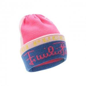 Шерстяная шапка Emilio Pucci. Цвет: розовый
