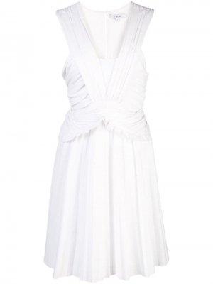 Платье мини со сборками и плиссировкой Derek Lam 10 Crosby