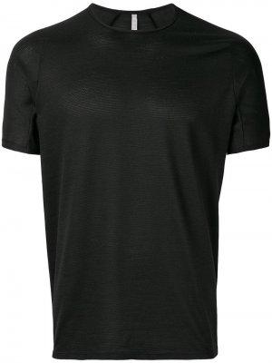 Фактурная футболка с узором Arc'teryx Veilance. Цвет: черный
